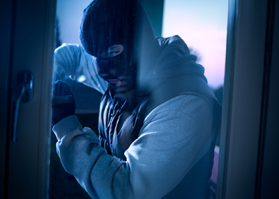 Man with balaclava results in burglary repairs