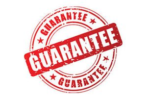 guarantee sticker