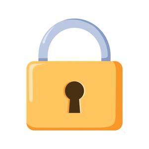 padlock logo
